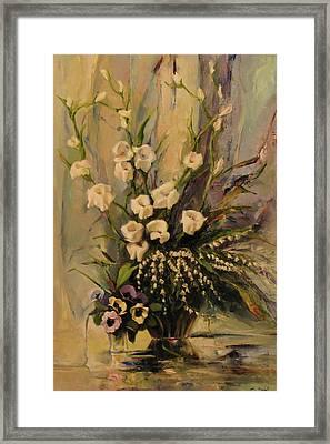 Bouquet Framed Print by Tigran Ghulyan
