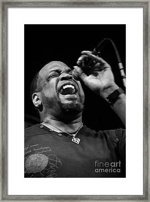 Bourbon Street Blues Band 3 Framed Print by David Bearden