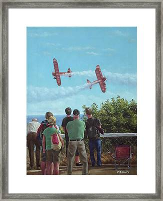 Bournemouth Air Festival Framed Print by Martin Davey
