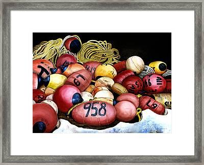 Bouyed Up Framed Print by Ilene Paulsen