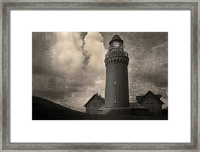 Bovbjerg Lighthouse - 365-93 Framed Print by Inge Riis McDonald