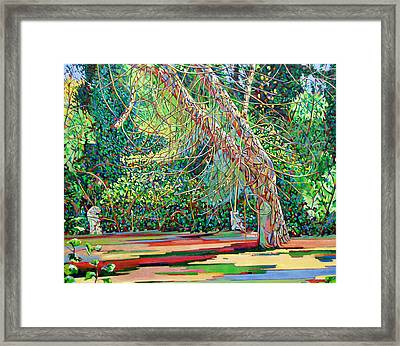 Bow Trench 1 Framed Print by Noel Paine