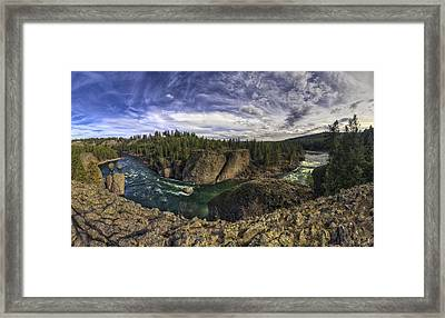 Bowl And Pitcher 2 Framed Print by Mark Kiver