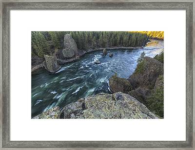 Bowl And Pitcher Framed Print by Mark Kiver