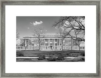 Bowling Green State University Hall Framed Print by University Icons
