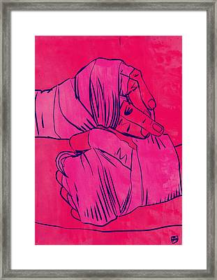 Boxing Club 4 Framed Print by Giuseppe Cristiano