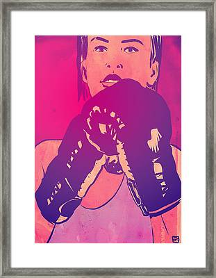 Boxing Club 8 Framed Print by Giuseppe Cristiano