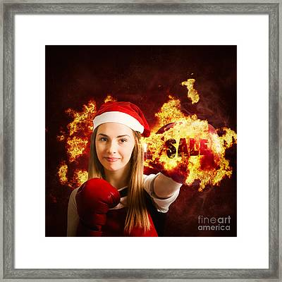 Boxing Day Sale Framed Print by Jorgo Photography - Wall Art Gallery