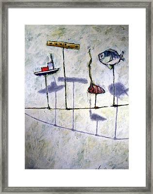 Boyhood Framed Print by Charlie Spear
