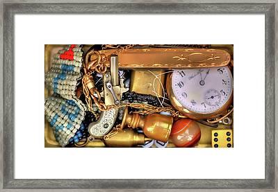 Boyhood Treasures 2 Framed Print by Lawrence Christopher