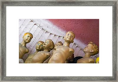 Boys Club Framed Print by Skip Hunt