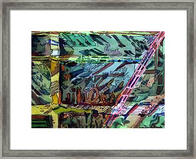 Brace Yourself Framed Print by Mindy Newman