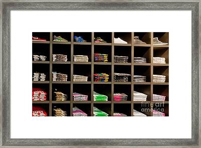 Brand Order Framed Print by Andy Smy