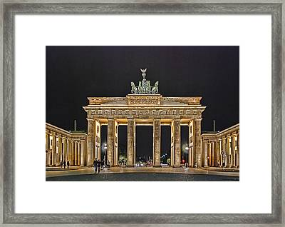 Brandenburg Gate Framed Print by Joachim G Pinkawa