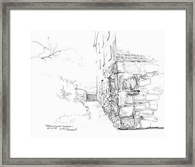 Brandywine Path Framed Print by John Norman Stewart