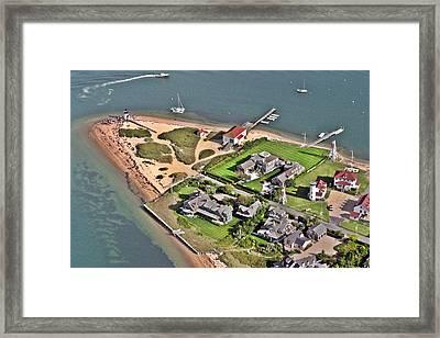 Brant Point Light House Nantucket Island 2 Framed Print by Duncan Pearson