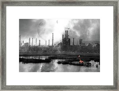 Brave New World 7d10358 V3 Bw Framed Print by Wingsdomain Art and Photography
