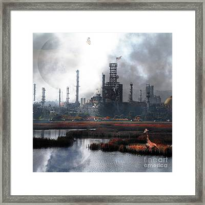 Brave New World 7d10358 V3 Square Framed Print by Wingsdomain Art and Photography
