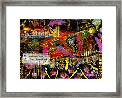 Brazilian Festival Framed Print by Angela L Walker