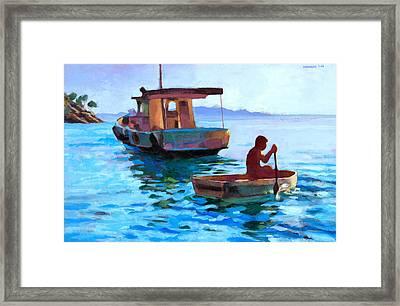 Brazilian Idyll Framed Print by Douglas Simonson