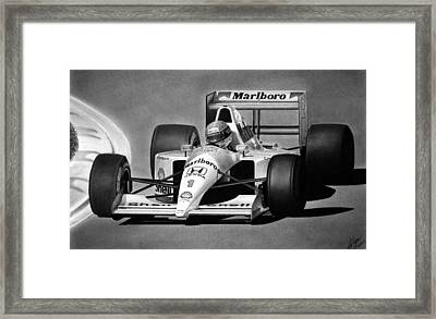 Brazilian Perfection Framed Print by Lyle Brown