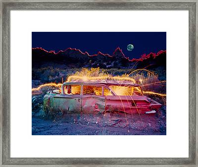 Break Down Framed Print by Garry Gay