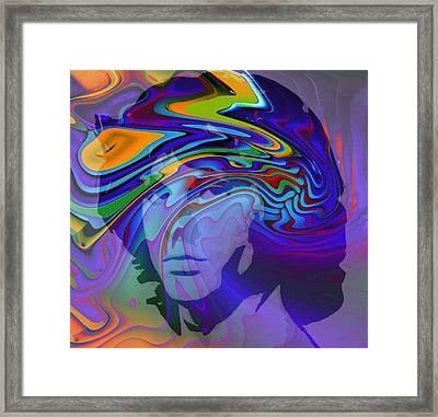 Break On Through Framed Print by Stefan Kuhn