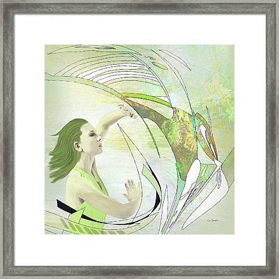 Break On Through Framed Print by Van Renselar