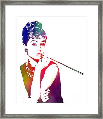 Breakfast At Tiffany's Framed Print by The DigArtisT