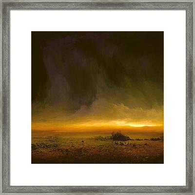 Breaking Light Framed Print by Lonnie Christopher