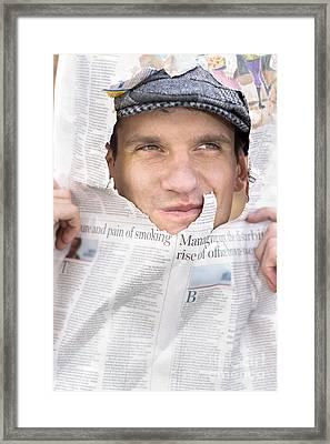 Breaking News Headlines Framed Print by Jorgo Photography - Wall Art Gallery
