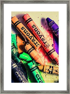 Breaking The Creative Spectrum Framed Print by Jorgo Photography - Wall Art Gallery