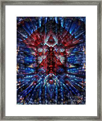 Breaking The Glass Ceiling Framed Print by Wbk