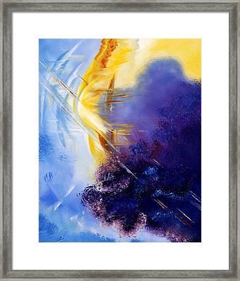 Breakthrough Framed Print by Judy Ross