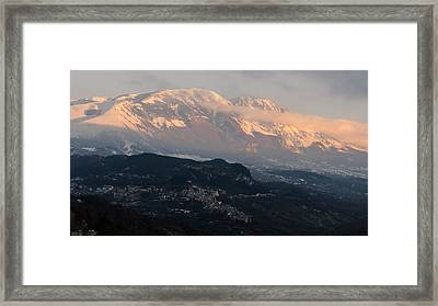 Breath Of Cold Air Framed Print by Andrea Mazzocchetti