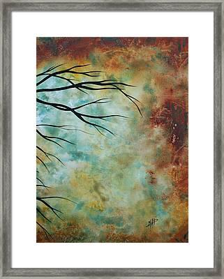 Breathless 3 By Madart Framed Print by Megan Duncanson