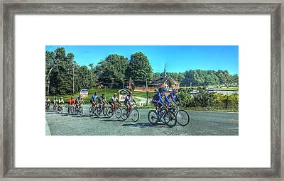 Brevard Traffic Jam Framed Print by John Adams