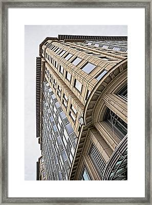 Brick And Steel And Glass Framed Print by Christopher Holmes