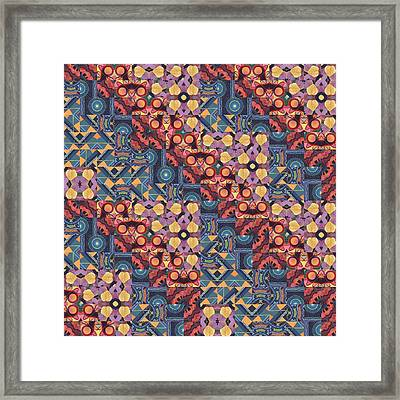 Brick By Brick - A  T J O D 5-6 Compilation Framed Print by Helena Tiainen