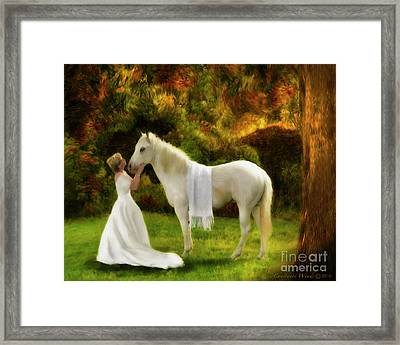 Bridal Revival Framed Print by Constance Woods