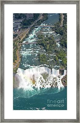 Bridal Veil Falls New York Framed Print by John Malone