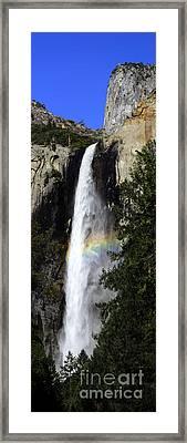 Bridalveil Falls - Yosemite Framed Print by Deby Dixon