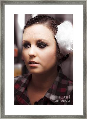 Brides Reflection Framed Print by Jorgo Photography - Wall Art Gallery