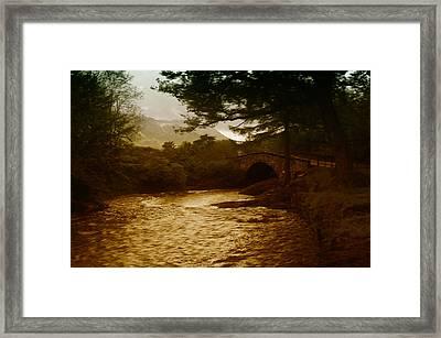 Bridge At The River Coe Framed Print by Mark Denham