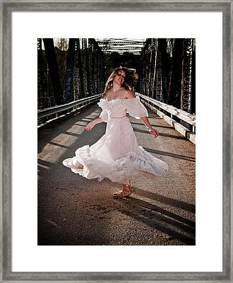 Bridge Dancer Framed Print by Scott Sawyer