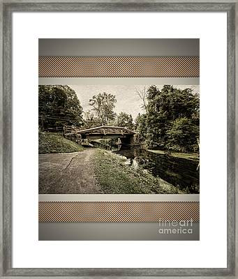 Bridge For Charity Framed Print by Tom Gari Gallery-Three-Photography