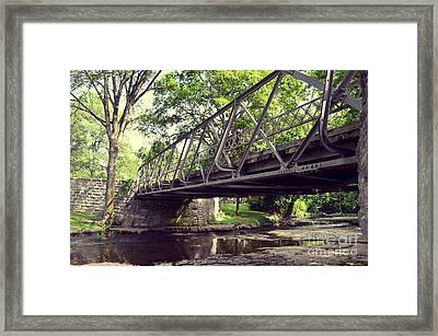 Bridge Framed Print by Julian Gandolfo