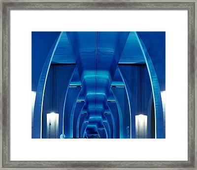 Bridge Miami Fl Framed Print by Panoramic Images