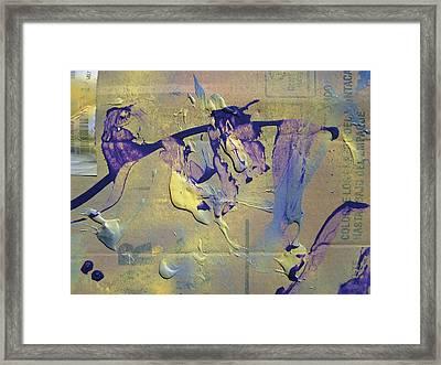 Bridge Of Old Hag Troll Framed Print by Bruce Combs - REACH BEYOND