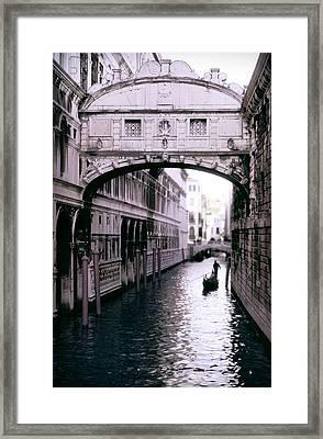 Bridge Of Sighs Framed Print by Warren Home Decor